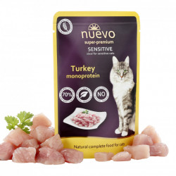 Nuevo Cat Sensitive Monoprotein curcan 85 gr