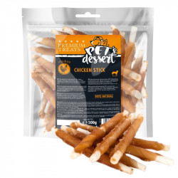 PET'S DESSERT LSC-44 CHICKEN STICK - PUNGA 0.500 Gr