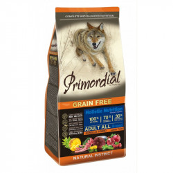 Primordial Grain-Free Holistic Dog Adult Tuna & Lamb 12kg