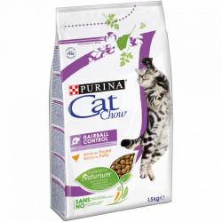 Purina Cat Chow Hairball Control cu Pui 1.5 kg