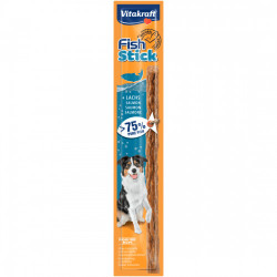 Recompensa pentru caini Vitakraft Fish Stick cu Somon 15g