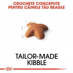 Hrana uscata caini ROYAL CANIN Beagle Adult crochete concepute pentru cainele tau beagle