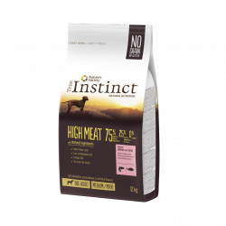 True Instinct Dog High Meat Medium - Maxi Adult cu Somon 12 kg