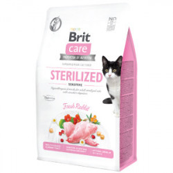 Brit Care Cat Grain-Free STERILIZED SENSITIVE 2 kg