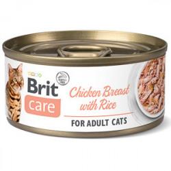 Brit Care Cat Pui si Orez 70 gr