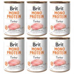 Brit Mono Protein Curcan 6 x 400 gr