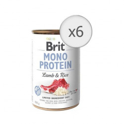 Brit Mono Protein Miel și Orez 6 x 400 gr
