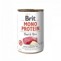 Brit Mono Protein Vită si Orez 400 gr