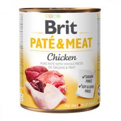 Brit Pate and Meat cu pui 800 gr