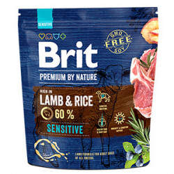 Brit Premium by Nature Sensitive Miel și Orez 1 kg
