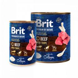 Brit Premium by Nature Vită și Burtă 800 gr + 400 gr