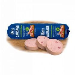 Brit Premium salam cu pui și vânat pentru câini