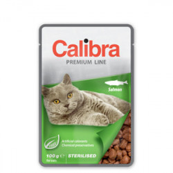 Calibra Premium Adult Cat Sterilised Somon 100 g