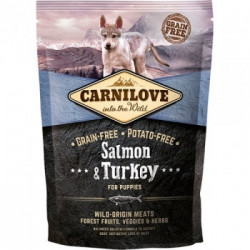 CARNILOVE Puppy Somon si Curcan 1,5 kg