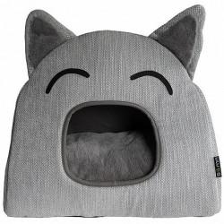 Culcuș pentru pisici - TeePee - 52 x 36 x 45 cm