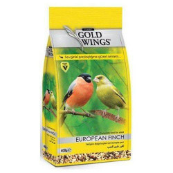 GOLD WINGS CLASSIC EUROPEAN FINCH/CINTEZA FOOD 400 gr
