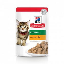 Hill's SP Kitten hrana pentru pisici cu pui 85 g (pliculeț)