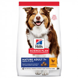 HILL'S SP Canine Mature medium breed cu pui 14 kg