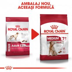 Hrana uscata caini ROYAL CANIN Medium Adult 7+ ambalaj nou