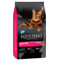 Hrana Uscata Equilibrio Adult Cats - HairBall Control 7.5 kg