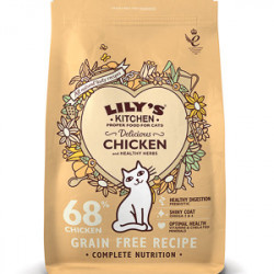 Lily's Kitchen Cat Delicious Chicken and Herbs 800 g