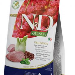 N&D Quinoa Cat Digestion cu miel și fenicul