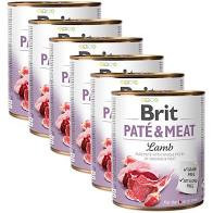Pachet Economic Brit Pate and Meat Miel 6 x 400 gr