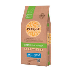 Petkult Sensitive Maxi Adult, Miel si Orez 2 Kg