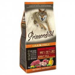 Primordial Grain-Free Holistic Dog Adult Buffalo & Mackerel 12 Kg