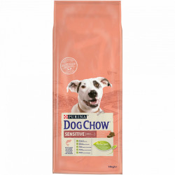 Purina Dog Chow Sensitive Adult cu Somon 14 kg