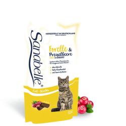Recompensa Sanabelle Snack Pastrav si Merisor 55 gr