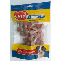 Recompense pentru caini Enjoy Carnivore Lollipops cu pui 300 g
