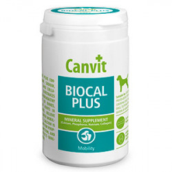 Supliment nutritiv Canvit Dog Biocal Plus 230 gr