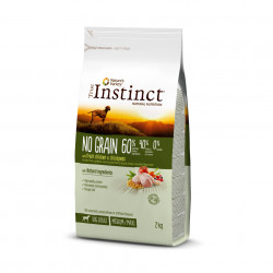 True Instinct Dog No Grain Medium - Maxi Adult cu Pui 2 kg