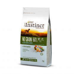 True Instinct Dog No Grain Medium & Maxi Adult cu Somon 2 kg