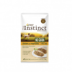 True Instinct No Grain Dog Mini Pate pui 150 gr