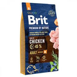 Brit Premium by Nature Adult M cu pui 8 Kg
