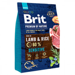 Brit Premium by Nature Sensitive Miel și Orez 3 kg