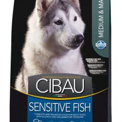 CIBAU Medium & Maxi Sensitive Fish 12 kg