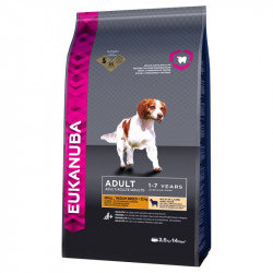EUKANUBA ADULT SMALL & MEDIU ALL BREEDS MIEL SI OREZ - SAC 12 KG