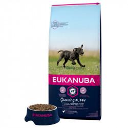 EUKANUBA PUPPY LARGE CU PUI - SAC 12 KG