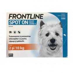 Frontline Spot On S (2-10 kg) - cutie cu 3 pipete