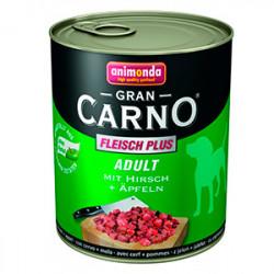 GranCarno Original Adult Căprioară și Măr 800 gr