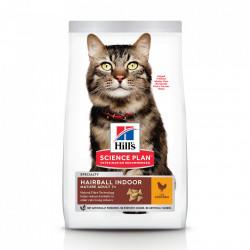 Hill's SP Feline Mature Adult Hairball Indoor cu pui 1.5 kg