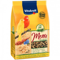 Hrana pentru canari Vitakraft Premium Menu 500 Gr