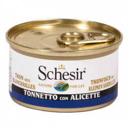 Hrana umeda pisici Schesir ton si gelatina