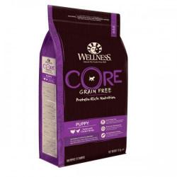 Hrana uscata caini Wellness Core Dry Breeder Puppy pui si curcan 10 kg