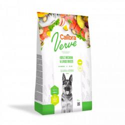 Hrana uscata pentru caini Calibra Verve, Fara Cereale, Adult, Somon & Hering, 12kg