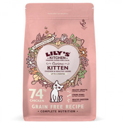 Lily's Kitchen Cat Curious Kitten Chicken 800 g