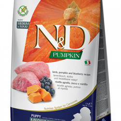 N&D Dog Grain Free Pumpkin Medium Large Puppy Miel 12 kg